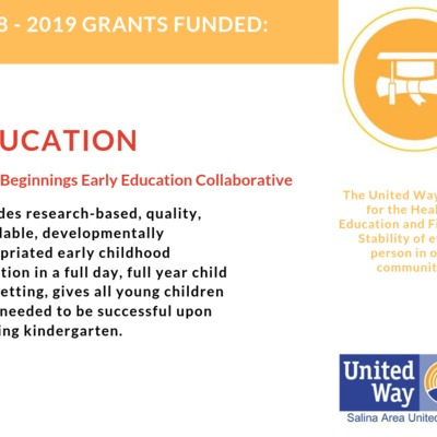 Grants Funded - Good Beginnings