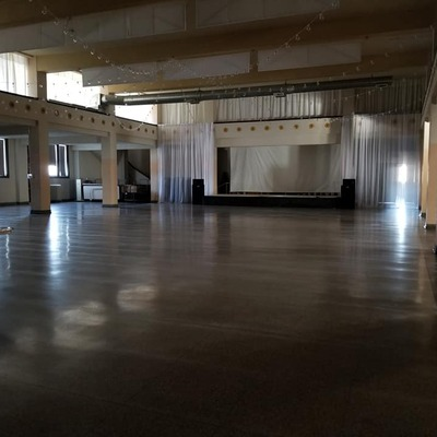 Ballroom space, available for private events