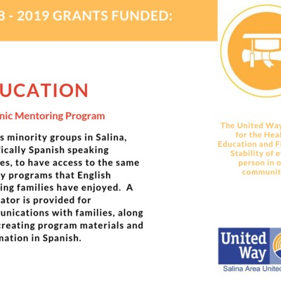 Grants Funded - Hispanic Mentoring