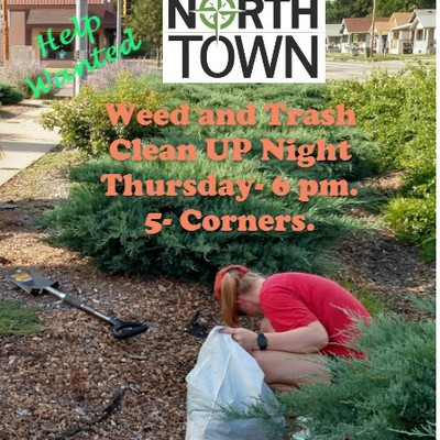 North Salina volunteer clean up!